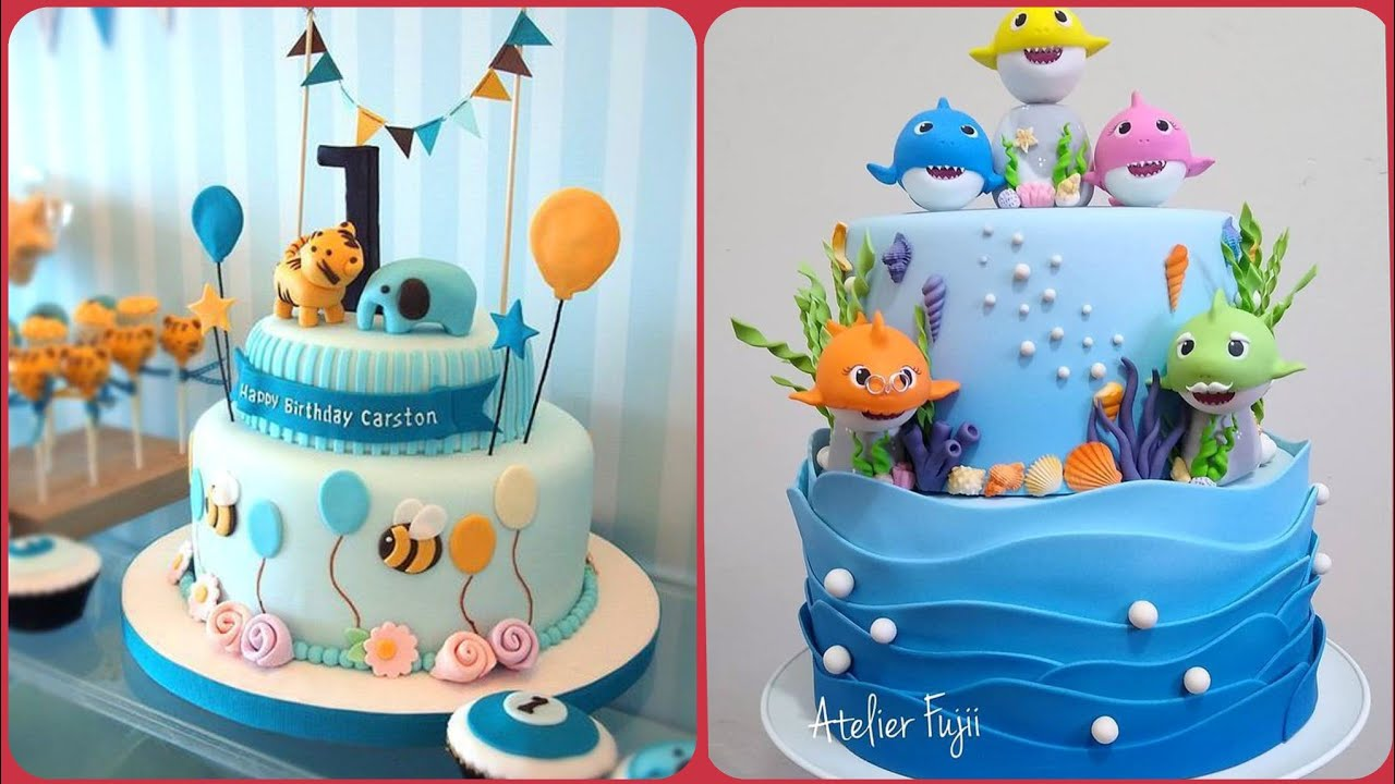 2020 Stylish Birthday Cake Designs For Your Little Baby Boy S Youtube