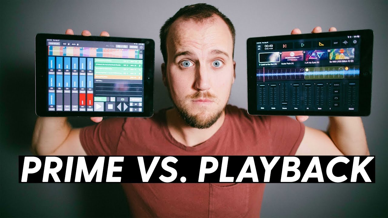 PRIME VS  PLAYBACK | Which app is best for your worship ministry?