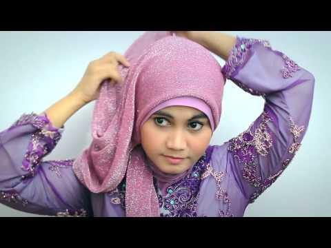 Hijab tutorial Kebaya Modern Graduation Day