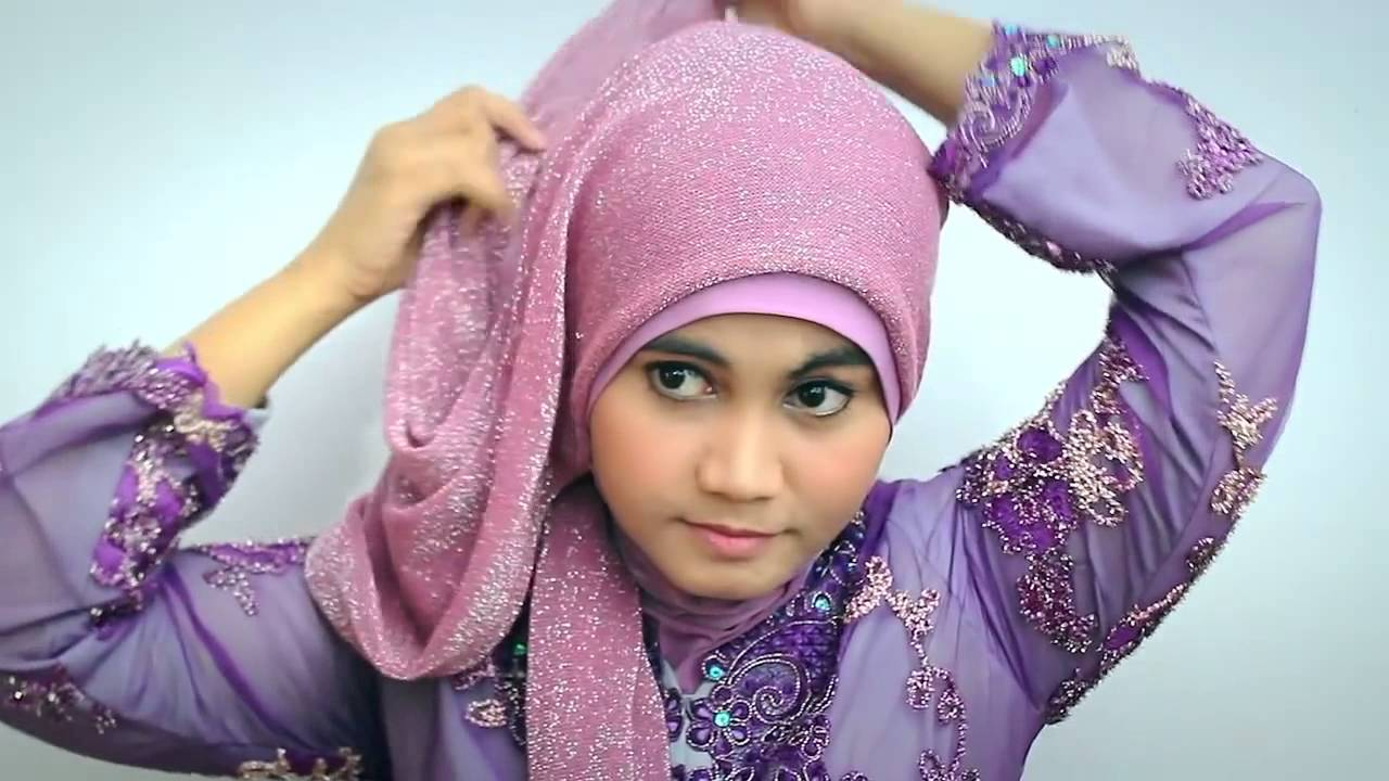 Hijab Tutorial Kebaya Modern Graduation Day YouTube