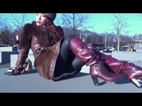 Fur, Gloves, Long Nails, Leather Boots and Berlin with Maya Liyer