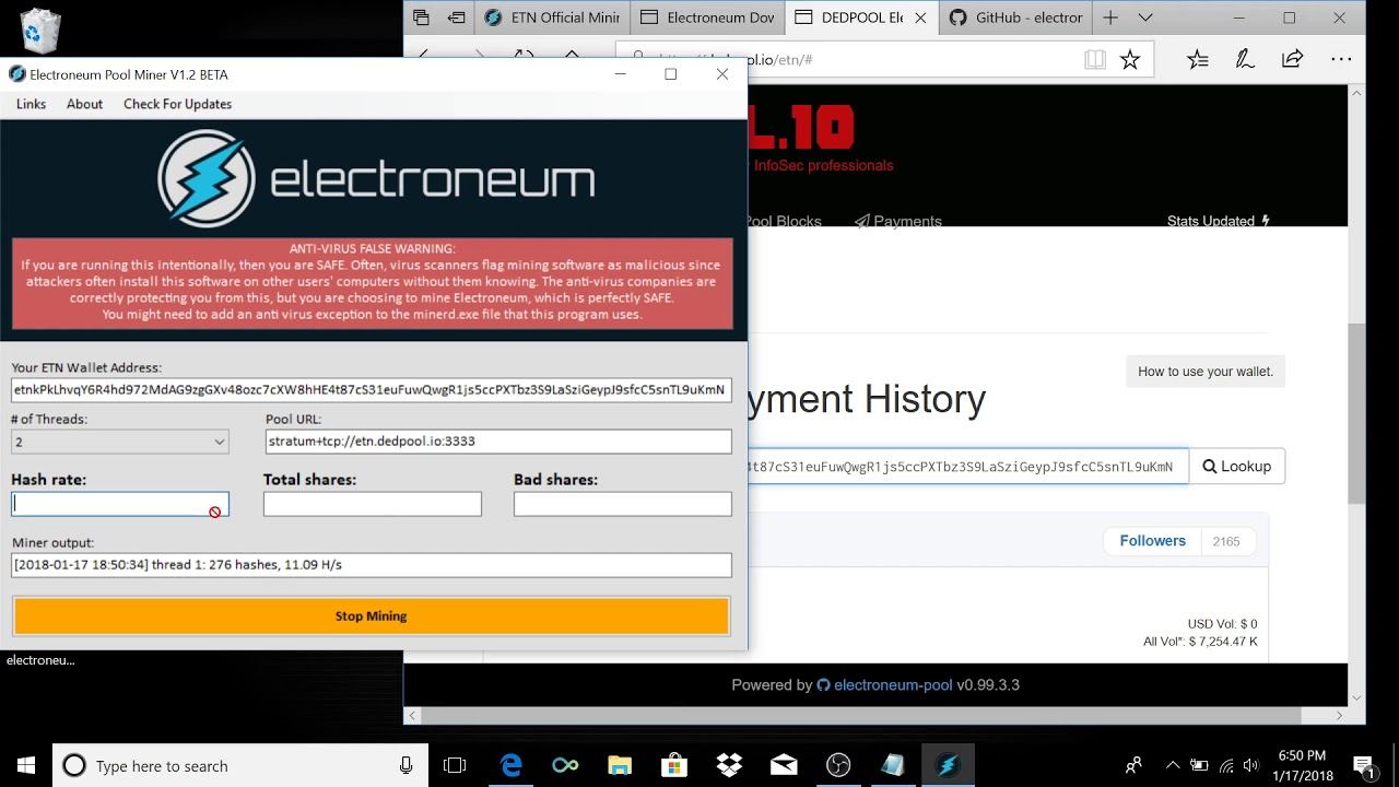 Updated: How To Mine Electroneum For Beginners (Windows)