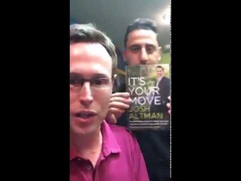 "Cody Sperber - Help us get ""It's Your Move"" by Josh Altman to the NY Times Bestseller's List"