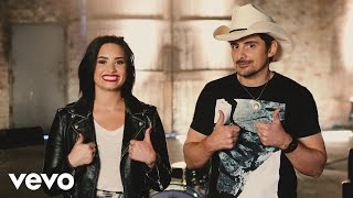 Brad Paisley - Behind the Scenes: Without a Fight ft. Demi Lovato YouTube Videos