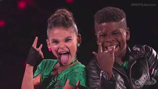Ariana Greenblatt & Artyon Celestine - DWTS Juniors Episode 2 (Dancing With The Stars Juniors)