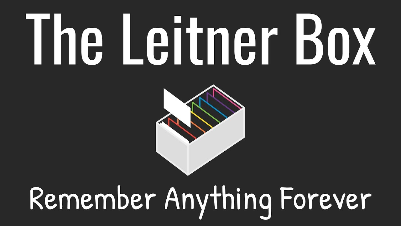 How To Remember Anything Forever-ish