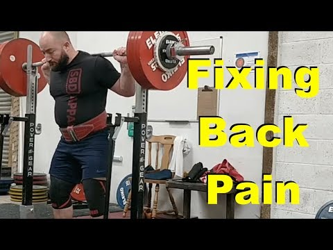 Low Back Pain When Squatting (A Case Study)