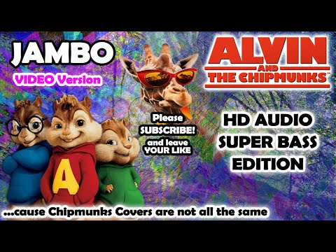 JAMBO (Alvin And Chipmunks HD COVER) - Takagi & Ketra Ft. Giusy Ferreri - NO ROBOTIC VOICES