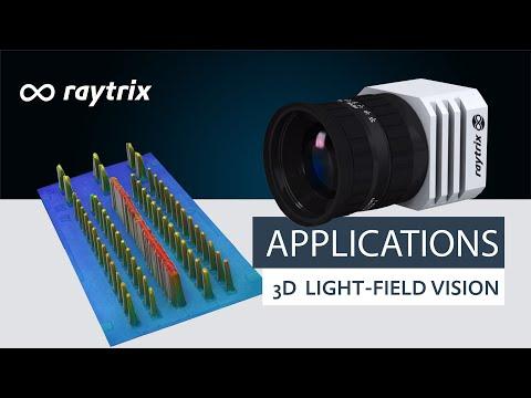 3D Light-Field Vision Applications