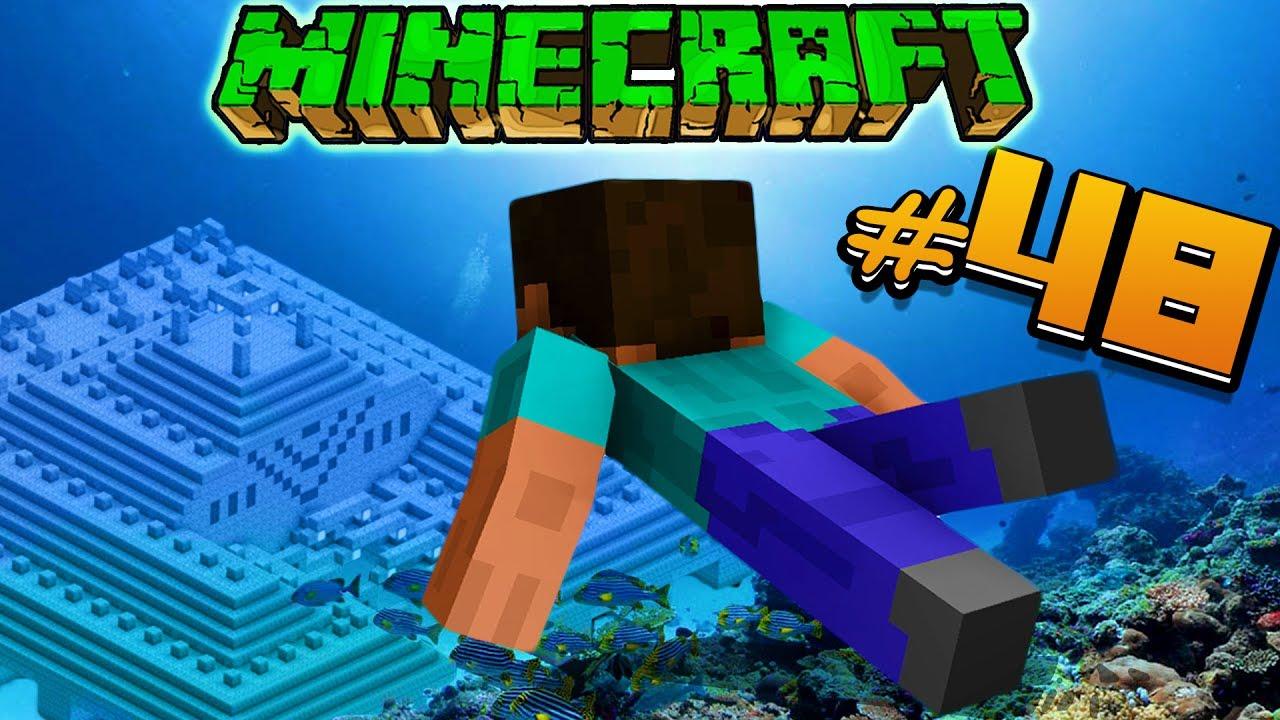 Майнкрафт #48 ПОДВОДНАЯ КРЕПОСТЬ Мультик про Minecraft для ...