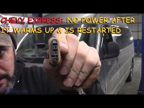 Chevrolet Express: No Power After Hot Restart