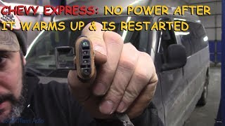 Download Chevrolet Express: No Power After Hot Restart Mp3 and Videos