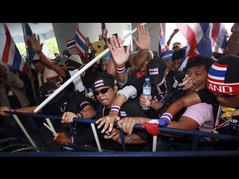 Three killed in Thailand as anti-government protests turn deadly