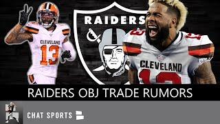 Odell Beckham Jr To The Raiders? OBJ Trade Rumors, Tyrell Williams Injury News & Zay Jones Number