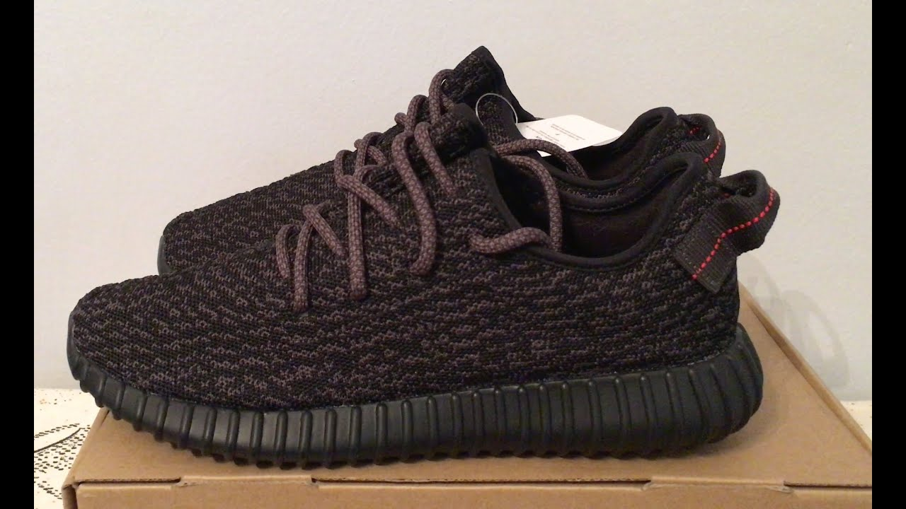 caa4a589f3f ... where can i buy kanye west adidas yeezy boost 350 pirate black shoes  youtube 48757 10613