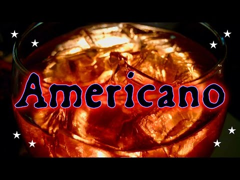 The History of the Americano Cocktail