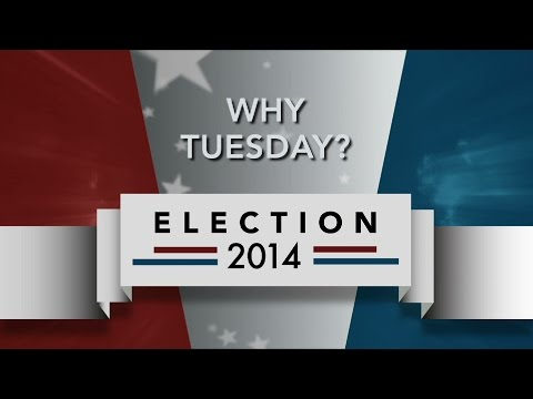 Why do we vote on the first Tuesday of November?