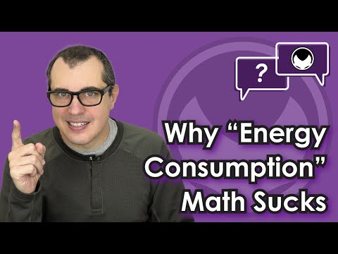 "Bitcoin Q&A: Why ""energy consumption"" math sucks"