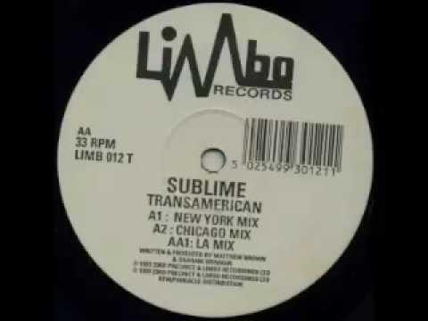 Sublime - Transamerican (New York Mix)