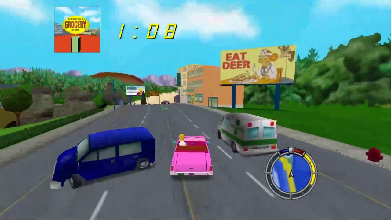 Simpsons Run Road Rage Returns Mod By – Fondos de Pantalla