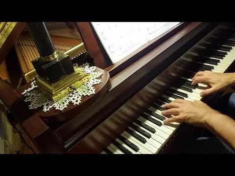 "Piano Solo ""My Shepherd Will Supply My Need."" 1909 Chickering 6'4"" Piano, Scale 123."