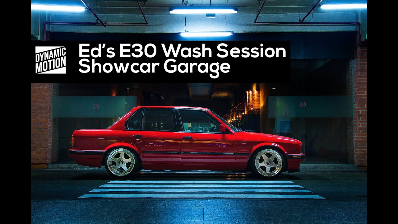 Eds E Wash Session Showcar Garage Dynamic Motion Media YouTube - Show car garage