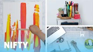 15-Minute Budget Desk Makeover