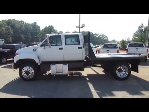 2001 Chevrolet C6500 Crew Cab Flatbed - TRUCK SHOWCASE - YouTube