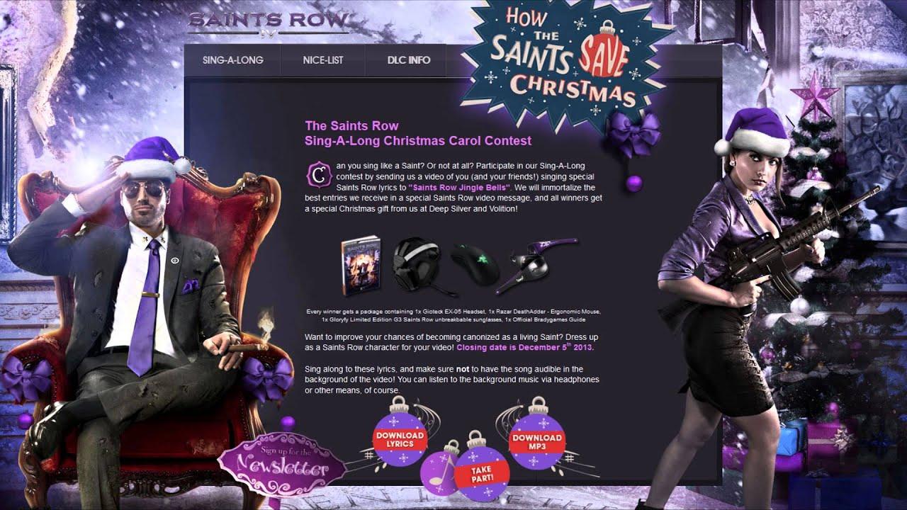 How the Saints Save Christmas Announced - YouTube