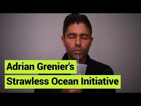 Adrian Grenier and The Strawless Ocean Initiative
