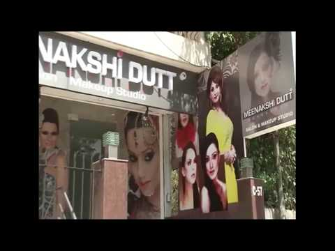 Beauty Salon Interior Design - Meenakshi Dutt Makeovers - New Delhi, India