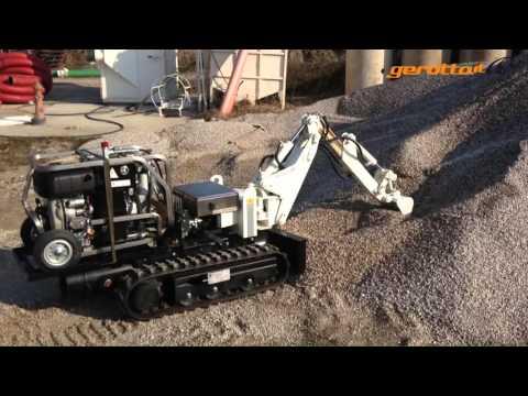Used Mini Excavator GATTO RC - www.gerotto.it
