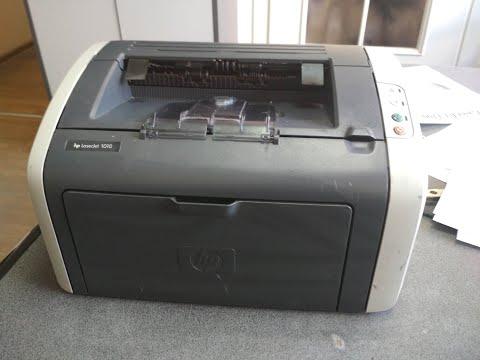 HP LaserJet 1010 - ремонт печки, замена термопленки