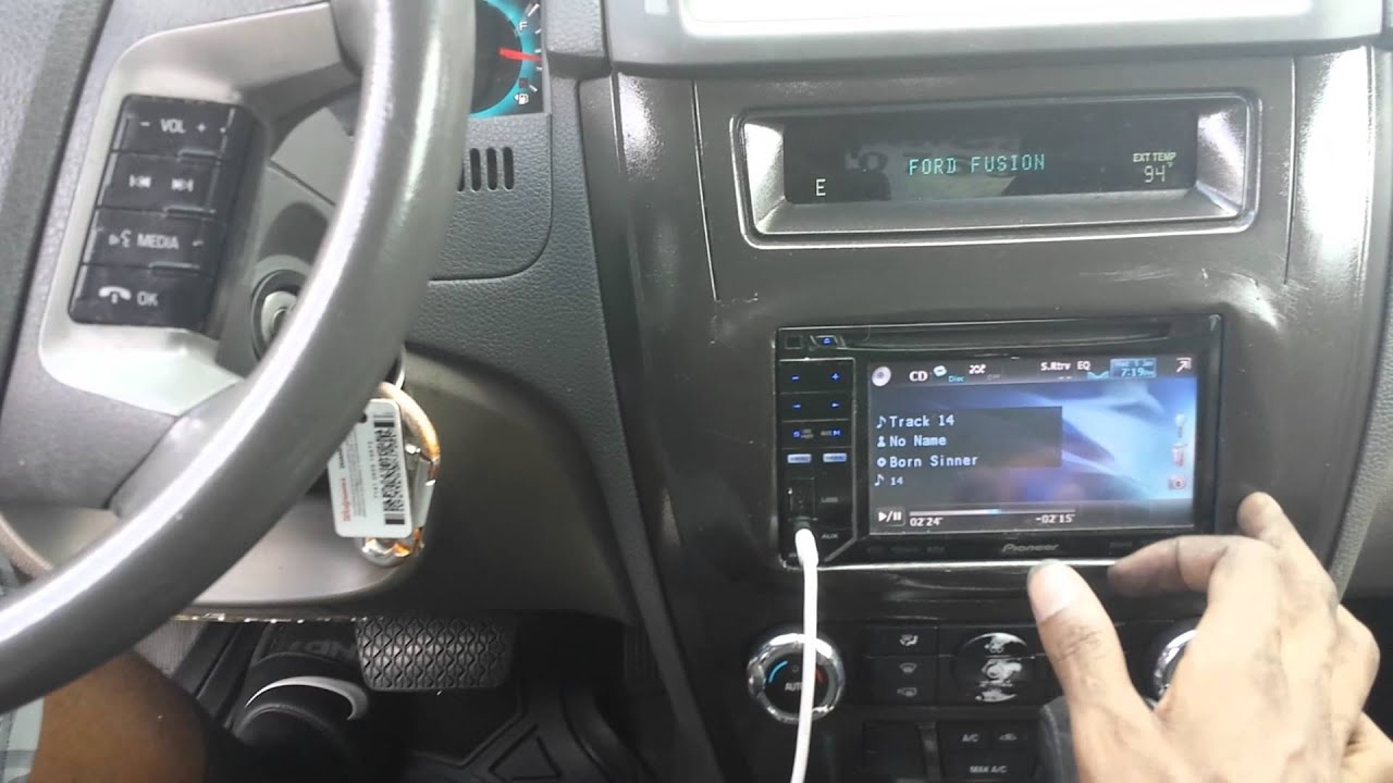2010 ford fusion HID kit installation  YouTube