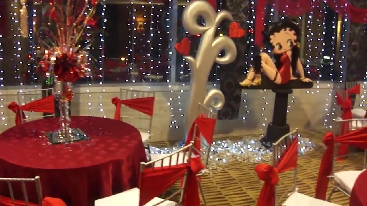 Fiesta Tematica Icopor Betty Boop Mis Quince A 209 Os Doovi