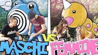 MASCHI VS FEMMINE - MIMI con i Pokemon di Let