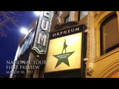 Inside Hamiltour's First Preview - March 10, 2017