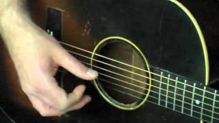 Acoustic Finger Picking- Guitar Lesson
