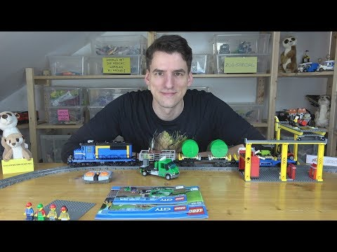 Zugwoche!! LEGO® 60052 - Güterzug from YouTube · Duration:  28 minutes 7 seconds