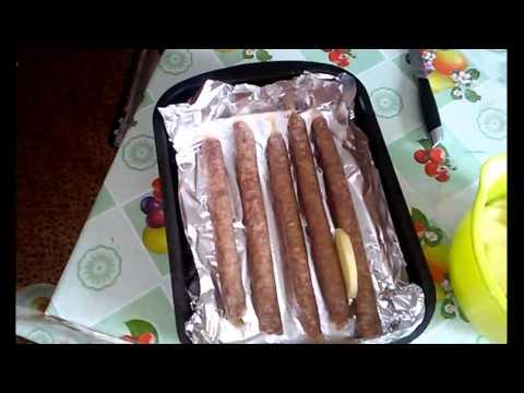 Колбаски в духовке