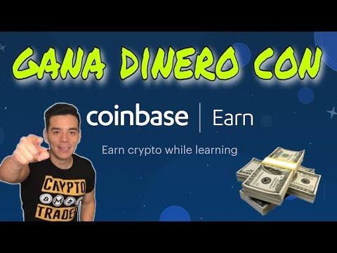 Gana dinero facil y rapido con Coinbase Earn!|Facil Tutorial