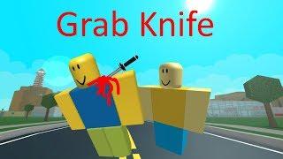 Roblox Knife Grab Script