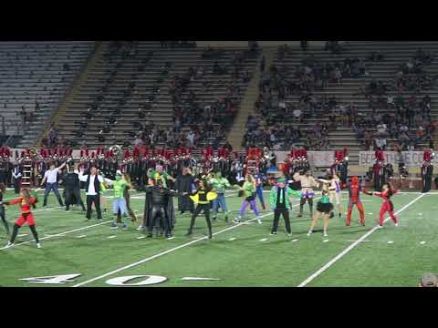 Tomball High School Charms Daddy Daughter Half Time Performance 2017