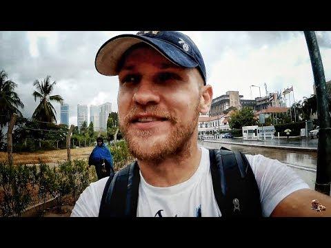 ВЛОГ: Жопная прогулка по Танзании, Дар-эс-Салам. Ливень и перепуганный охранник