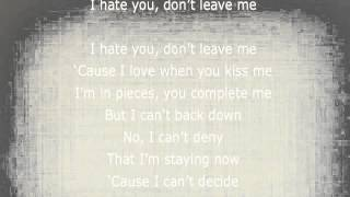 Demi Lovato - I hate you, don