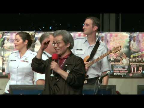 JAZZ DAY かすかべ2016 アメリカ空軍太平洋音楽隊パシフィック・ショーケース アンコールの案内と実行委員長挨拶 Greeting from Chairman and Encore