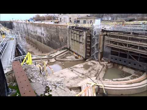 Tanker ship ALGONORTH departing Lock 1, Welland Canalиз YouTube · Длительность: 6 мин7 с