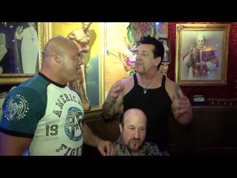 Chuck Zito enjoys his 61st Birthday dinner with his friends!