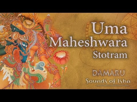 Uma Maheshwara Stotram | Damaru | Adiyogi Chants - Sounds of Isha