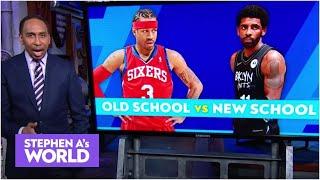 Kyrie Irving or Allen Iverson: Who is the better player? | Stephen A's World